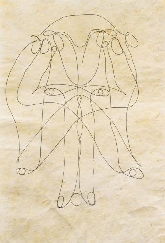 Tunga ink drawing