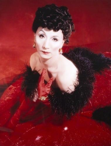 Yasumasa Morimura Self-portrait (Actress) after Vivien Leigh
