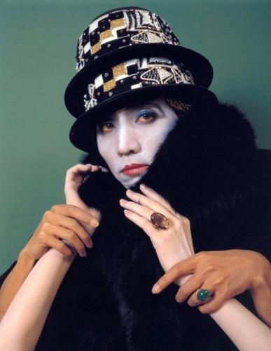 Morimura as Duchamp