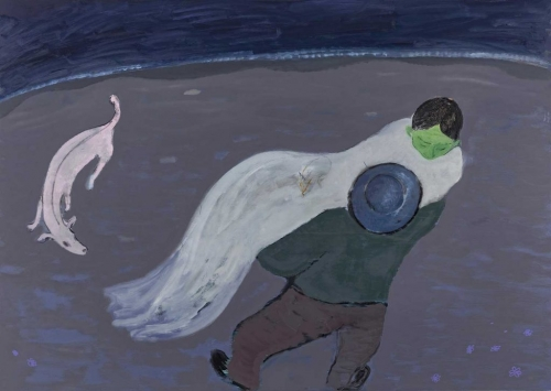 Kantarovsky painting Baba