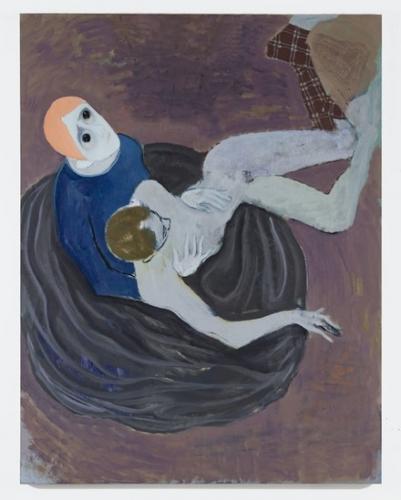 Kantarovsky painting Fracture