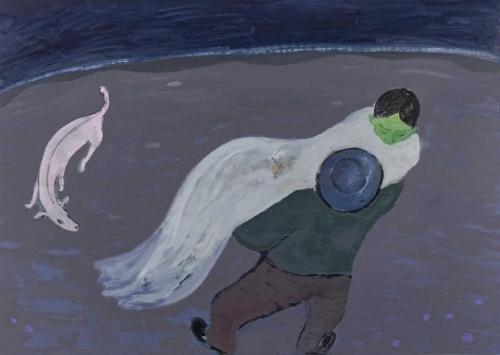 """Sanya Kantarovsky - Luhring Augustine"" by Eli Diner"