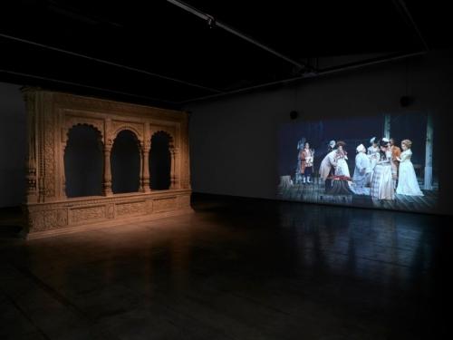 Kjartansson video installation