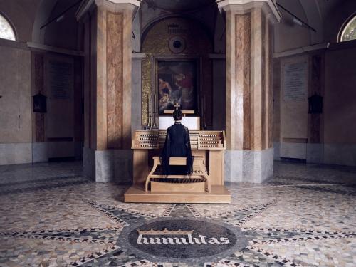 Ragnar Kjartansson, The Sky in a Room, 2018–2020 Performance view, the Church of San Carlo al Lazzaretto, Milan, Italy, 2020
