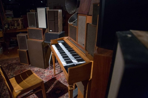 Piano in Poetry Machine installation