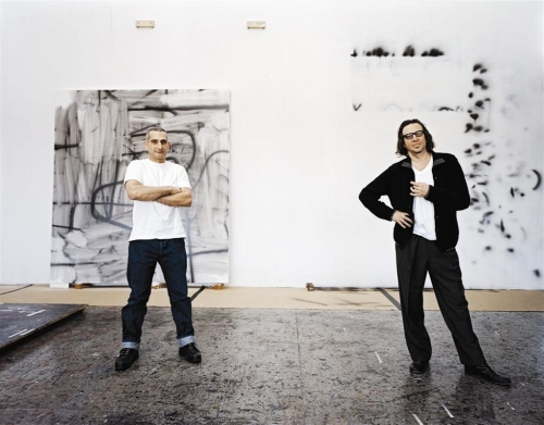 Christopher Wool and Richard Hell