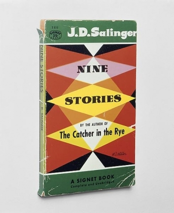 Wolfe Salinger book cover with diamond shapes