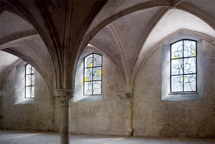 Stained glass windows by Wool