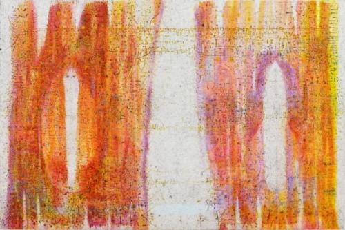 El Saieh abstract painting
