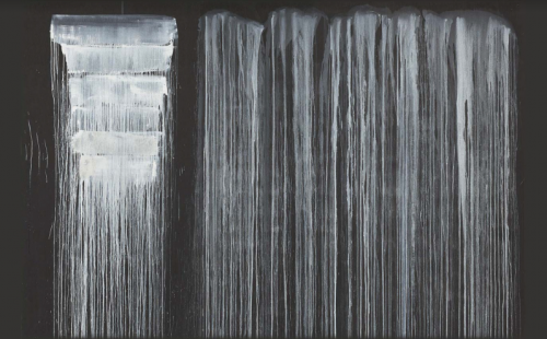 Pat Steir: Silent Secret Waterfalls - The Barnes Series