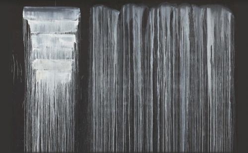Pat Steir: Silent Secret Waterfalls - The Barnes Series