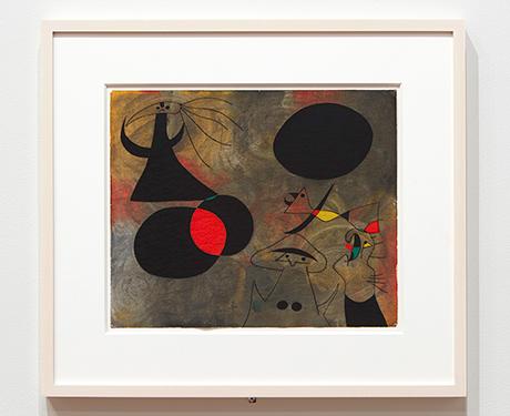 Joan Miro, Sunrise, 1940