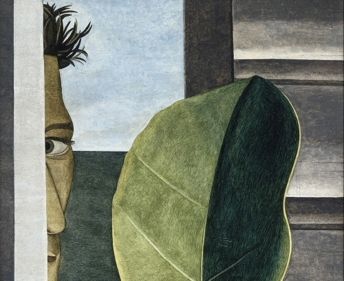 "Lucian Freud, ""Still-life with green lemon,"" 1947"