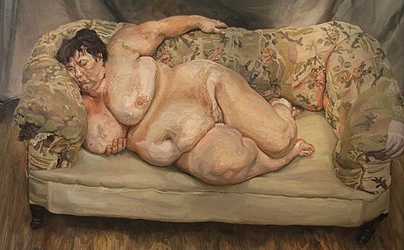 Lucian Freud  Benefits Supervisor Sleeping, 1995