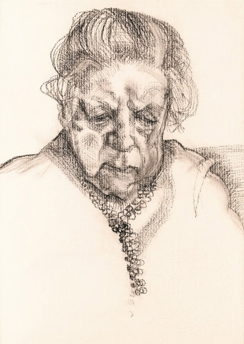 The Painter's Mother, 1983 Lucian Freud