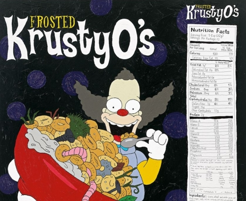 Tom Sachs Krusty O's