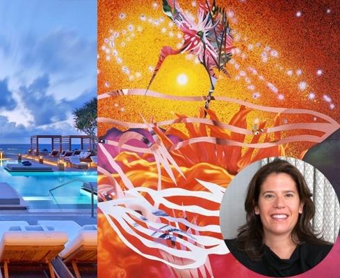 Harper's Bazaar Eleanor Acquavella Article Miami Beach