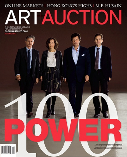Art and Auction Power Issue