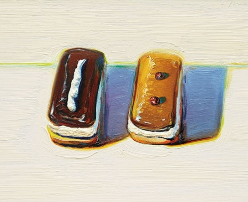 Wayne Thiebaud Painting