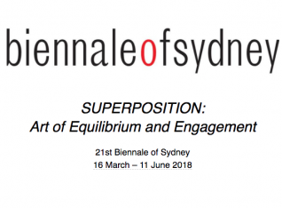 "Geng Xue: ""Biennale of Sydney - SUPERPOSITION: Art of Equilibrium and Engagement,"" Sydney, Australia (Group Exhibition)"