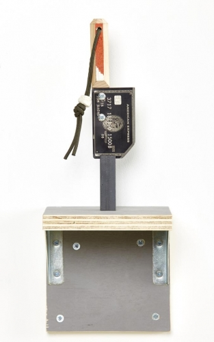 African American Express, 2015 by Tom Sachs