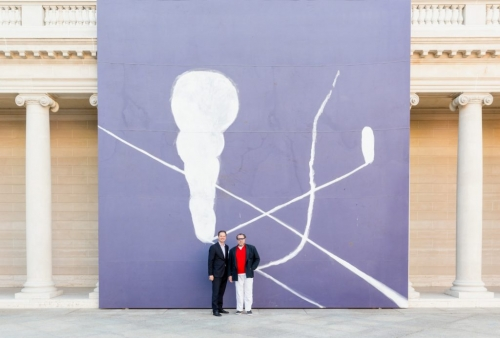'Julian Paints Before He Even Starts to Paint': Max Hollein and Julian Schnabel Open Monumental Show in San Francisco