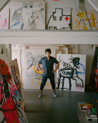 East Chicago native and IUN alumnus Robert Nava is enjoying success in art world. (Rafik Greiss/HANDOUT)
