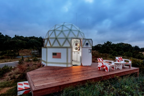 "Tiny Luxury Living Made Possible by Tom Sachs's ""Building #3"""