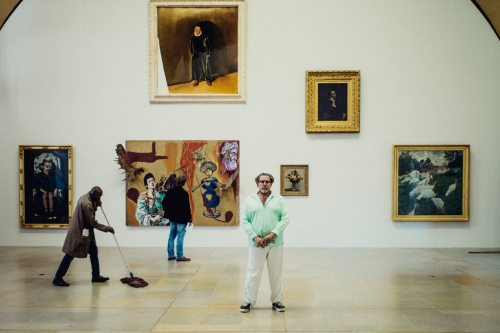 Julian Schnabel and the Great Painters, Side by Side