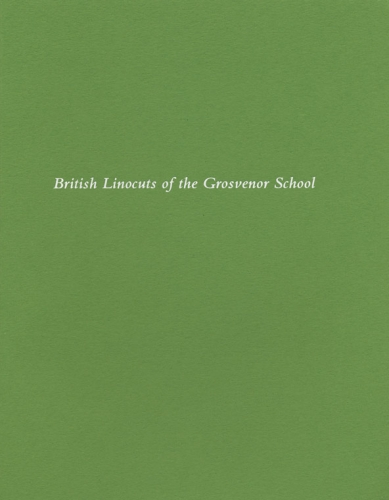 British Linocuts of the Grosvenor School