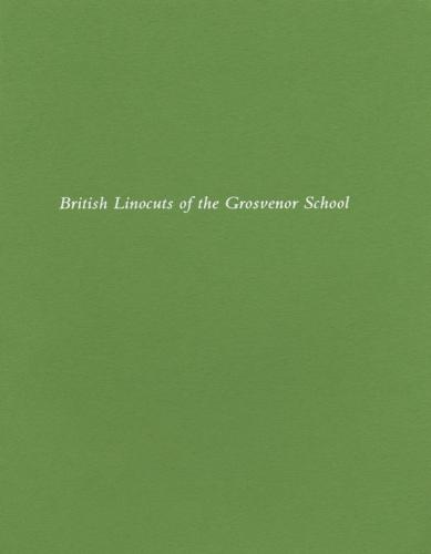British Linocuts of the Grosvenor School
