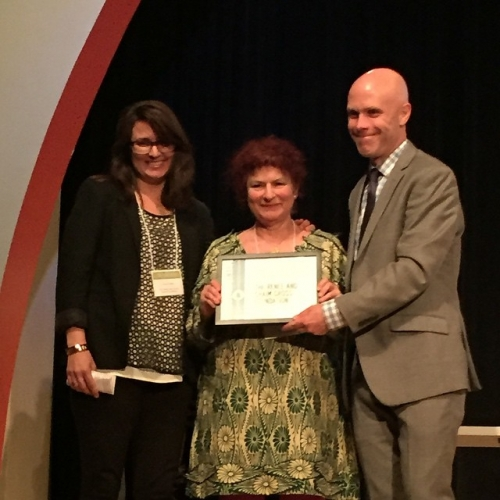 Foundation wins 2015 Village Award