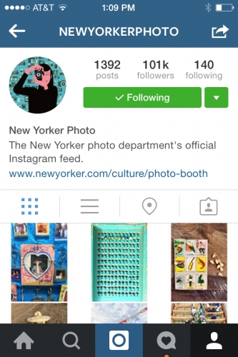 Instagram takeover @newyorkerphoto by @joaquintrujillo