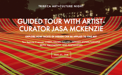 Tribeca Art+Culture Night : 5th Edition