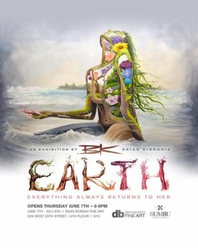 E.A.R.T.H. : A solo Exhibition Featuring Brian Kirhagis