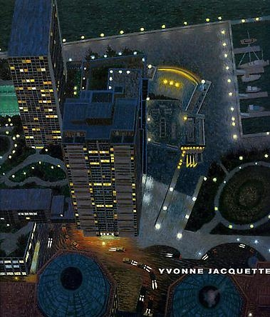 Yvonne Jacquette: Evening: Chicago & New York