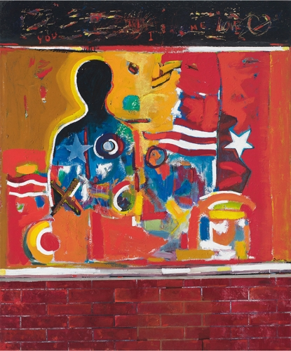 """Romare Bearden and David Driskell in """"Soul of a Nation: Art in the Age of Black Power"""""""