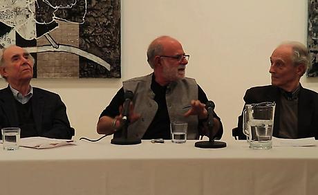 VIDEO: Robert Kushner, Robert Berlind, and Irving Sandler