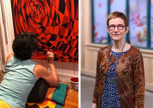 Painting Connections: Elisabeth Condon in Conversation with Katia Santibañez