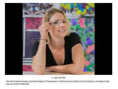 Portrait of Katarina Riesing