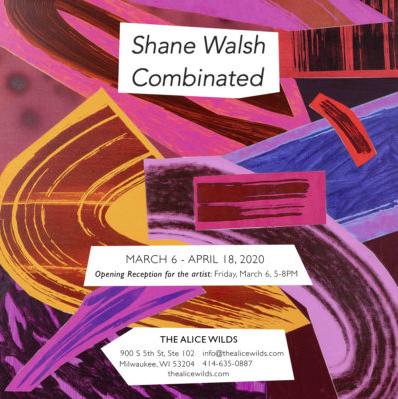 Shane Walsh solo exhibition invitation
