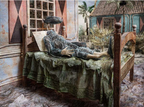 """Photograph by Jasper de Beijer in The Woven Tale Press Magazine, """"Interview with Jasper de Beijer"""", by Jennifer Nelson"""