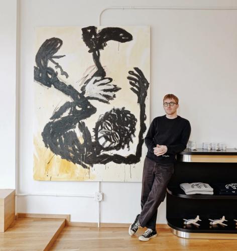 "Press on Ricardo Gonzalez: Parlor, ""How Menswear Brand Knickerbocker's First Retail Space Celebrates a Community of Artists"""