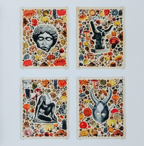 """Work on paper by Matthew Craven in Group Exhibition: """"Paradisia"""", at Mini Galerie, Amsterdam"""