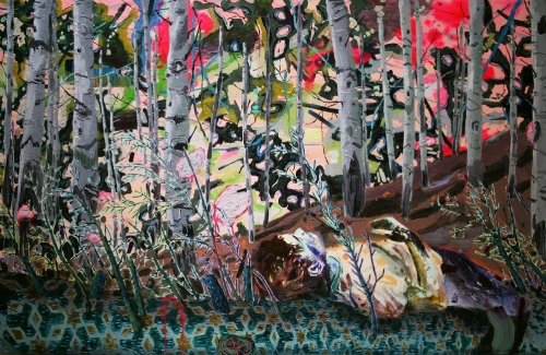 Melanie Daniel painting