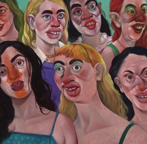 """Group Exhibition with Rebecca Morgan: """"Death Doula"""", at La Luz de Jesus Gallery, Hollywood, CA"""
