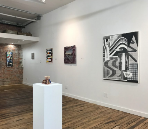 Group Exhibition curated by Kate Mothes featuring Shane Walsh painting