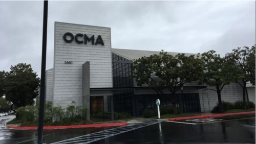 OCMAExpand — Santa Ana, housed in a former furniture store, will be the Orange County Museum of Art's temporary home through early 2021. (Photo by Richard Chang)
