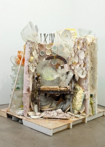 """Press on Julie Schenkelberg: The Other Side of the Desk, """"The Making of Unmaking"""", by David Gibson"""