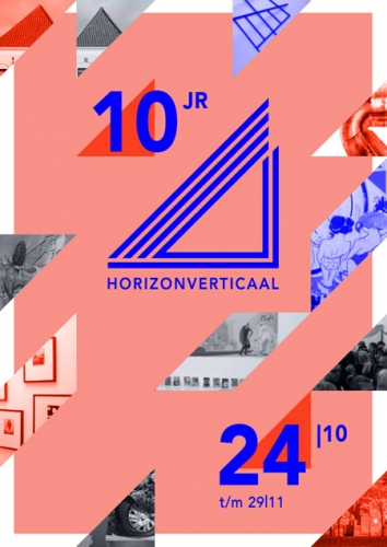 """10 years HV, anniversary exhibition image for Group Exhibition with Marjolijn de Wit: """"10 Year HV, Anniversary Exhibition"""" at Horizonverticaal, Haarlem, The Netherlands"""
